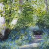 Beech Tree and Bluebells - Mark Eldred