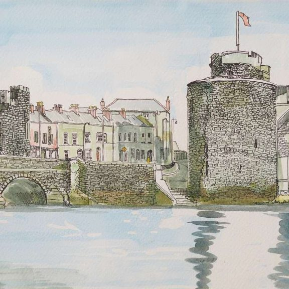 King Johns Castle - Gillian Murphy