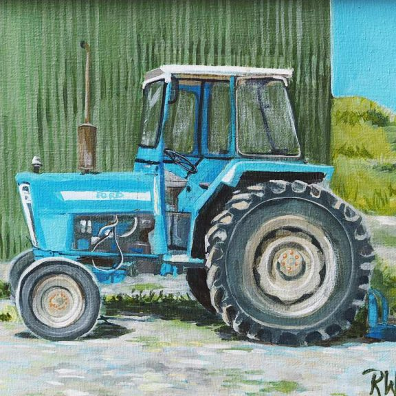 Tractor - Ruth Wood