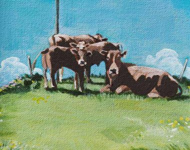 Kilcredaun Cows - Ruth Wood