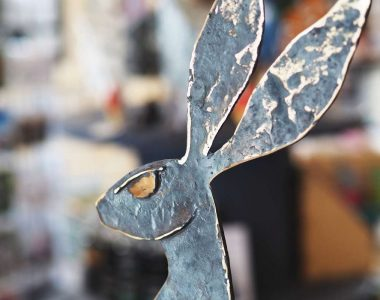 Bronze Large Hare - Seamus Connolly