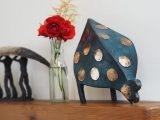Bronze Hen (Shiney dots) - Krystyna Pomeroy