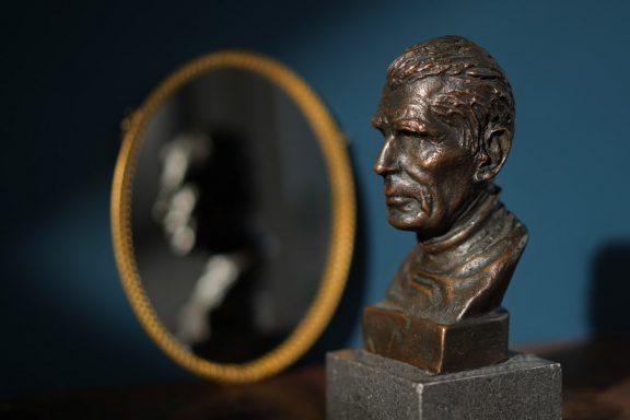 Beckett by jim Connolly for Kilbaha Gallery Buy Irish Art Online