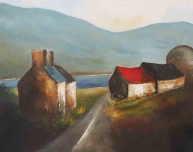 Padraig McCaul - A Connemara Road
