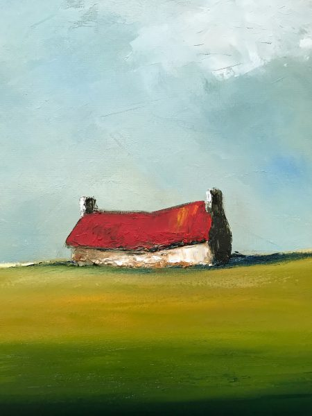 Irish art Padraig McCaul for Kilbaha Gallery