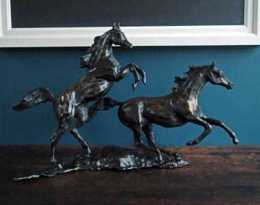 Siobhan Bulfin - Arabian Horses - Bronze - Kilbaha Gallery