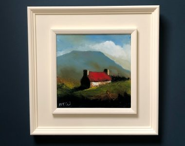 Achill Cottage by Padraig McCaul