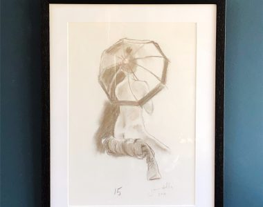 James Hally original sketch for Kilbaha Gallery