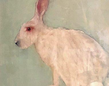 Broken Bunny II - Limited Print by Heidi Wickham