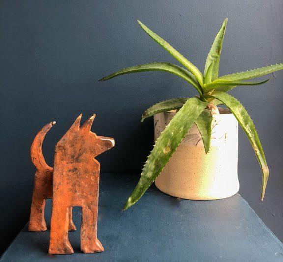 Bronze Dog by Seamus Connolly