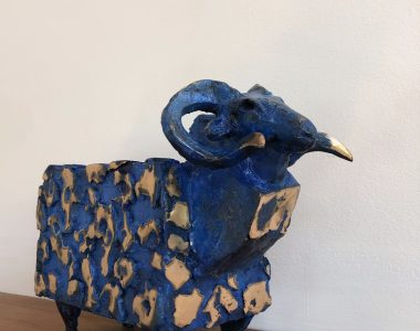 Bronze Ram by Seamus Connolly for Kilbaha Gallery