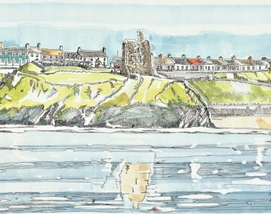 Mens Beach Ballybunion, by Ruth Wood Exclusive to Kilbaha Gallery