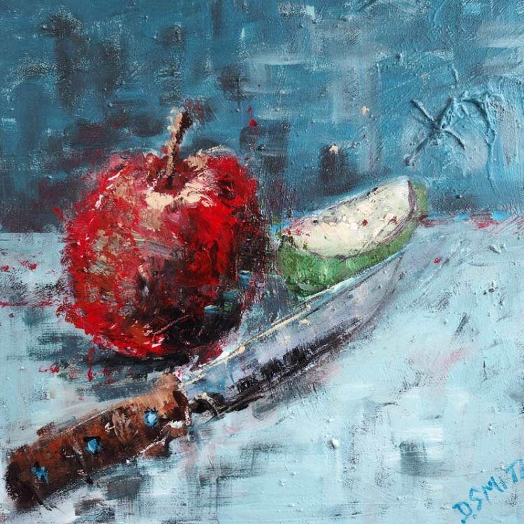 Apple by Danny V Smith Buy Art Online