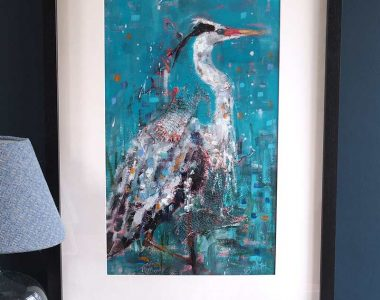 Heron by Danny Smith for Kilbaha Gallery Buy Irish Art Online