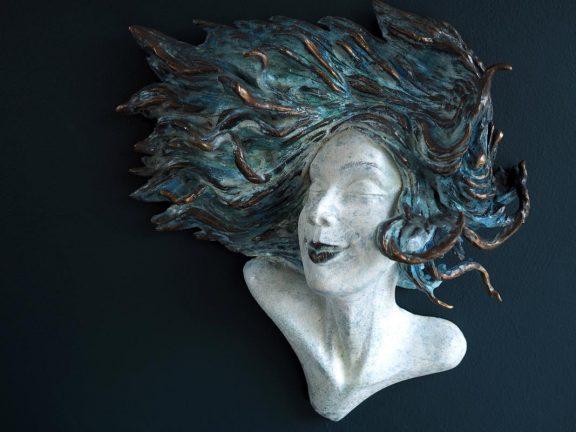 Adil Vezir Windswept for Kilbaha Gallery Buy Irish Art Online