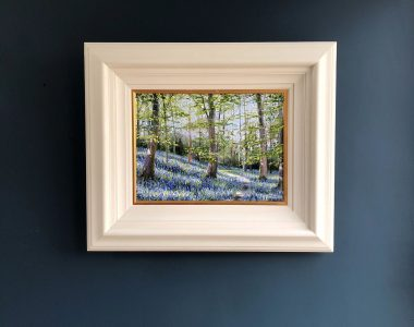 Courtmacsherry Bluebells by Mark Eldred for Kilbaha Gallery