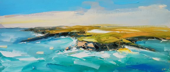 Georges Head by David Coyne for Kilbaha Galllery Buy Irish Art Online
