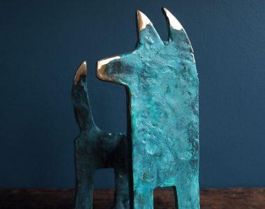 Bronze Dog Seamus Connolly Kilbaha Gallery Buy Irish Art Online
