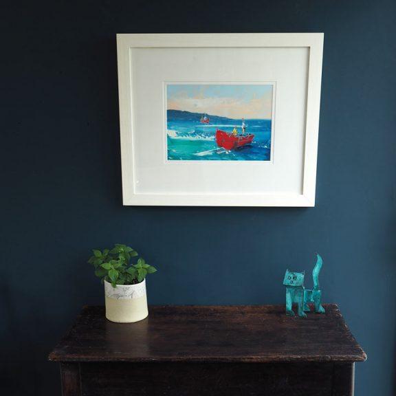 Fishing the Atlantic by David Coyne for Kilbaha Gallery buy Irish Art Online
