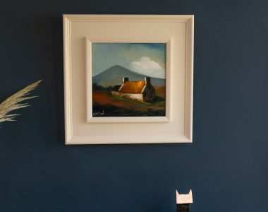 Mountain Cottage Padraig McCaul Kilbaha Gallery buy Irish art