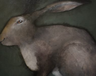 hare on green Heidi Wicham for Kilbaha Gallery Buy Irish Art Online