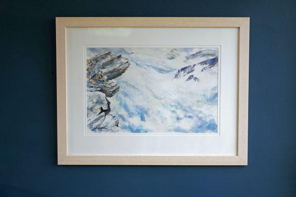 Phil Brennan Fishermans Rock for Kilbaha Gallery Buy Irish Art Online