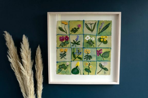 The Wildflower Medley - Carmel Madigan for Kilbaha Gallery - Buy Irish Art