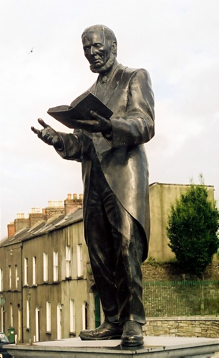 Bard of Thomond Limerick Jim Connolly sculptor