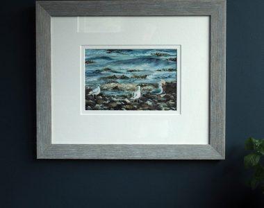 Seagulls by D - Buy Irish Art - D - Kilbaha Gallery