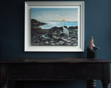 Herron by D - Buy Irish Art - D - Kilbaha Gallery