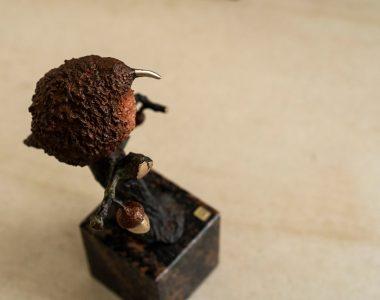 Bronze Robin by Arturas for Kilbaha Gallery Buy Irish Art Online