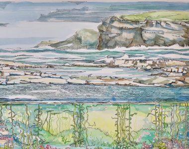 Large - Pollock Holes Kilkee - Ruth Wood - 2020