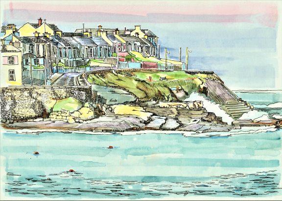 Newfy - The West End Kilkee - Ruth Wood- Kilbaha Gallery