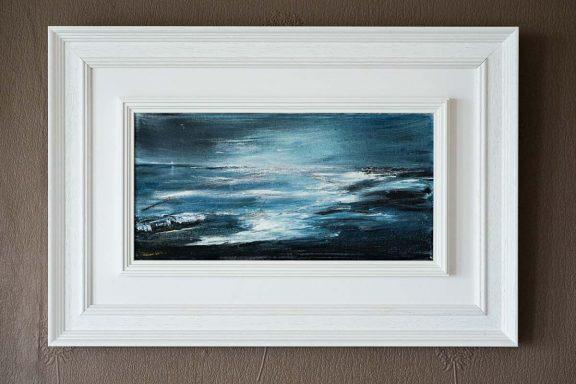 Ross Moonrise by Fiona Quinn Cartwright for Kilbaha Gallery Buy Irish Art Online