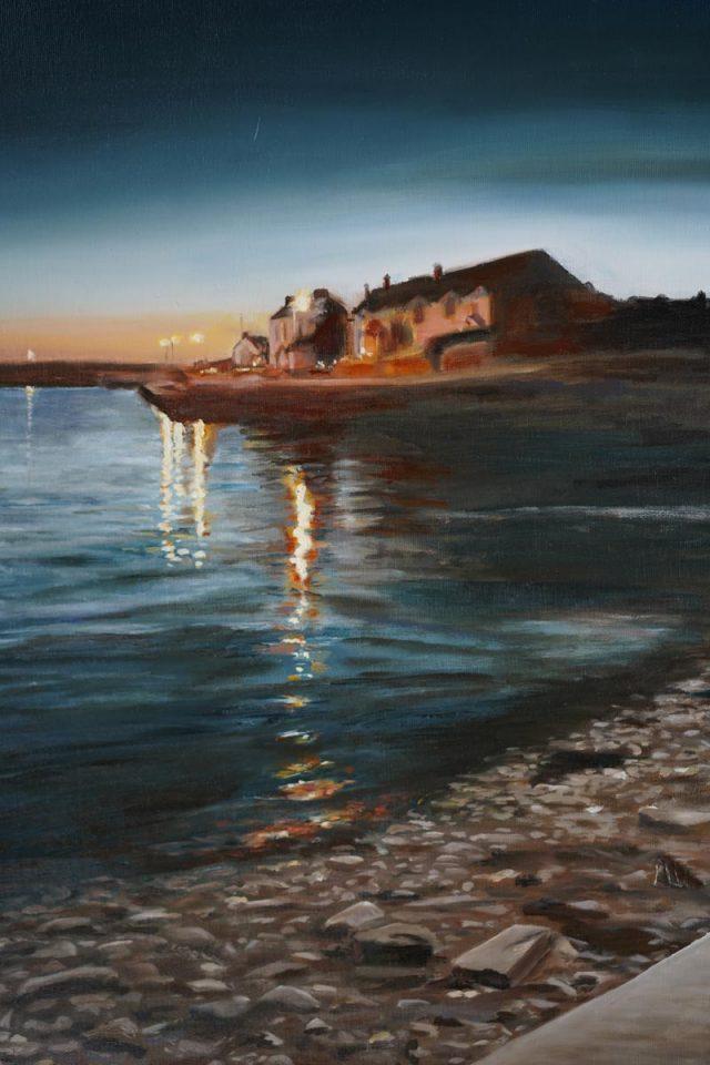 The artist D for Kilbaha Galley buy Irish Art Online