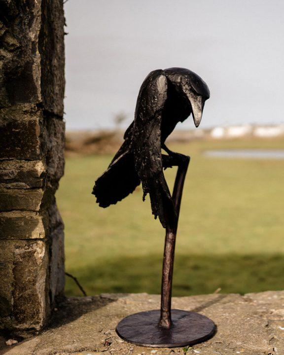 Raven by Adam Pomeroy for Kilbaha Gallery Buy Irish Art Online