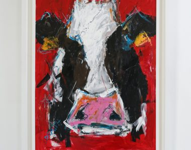 Cow by Danny Vincent Smith for Kilbaha Gallery Buy Irish Art Online