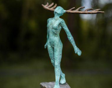 Bronze Figure Adam Pomeroy for Kilbaha Gallery Buy Irish Art Online