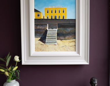 The Esplanade by Gillian Kenny Shinnors for Kilbaha Gallery