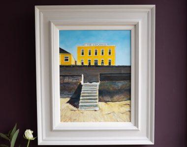 Esplanade Kilkee by Gillian Kenny Shinnors