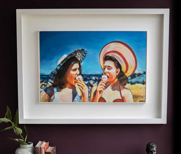 Ladies of Leisure by Gillian Kenny Shinnors for Kilbaha Gallery